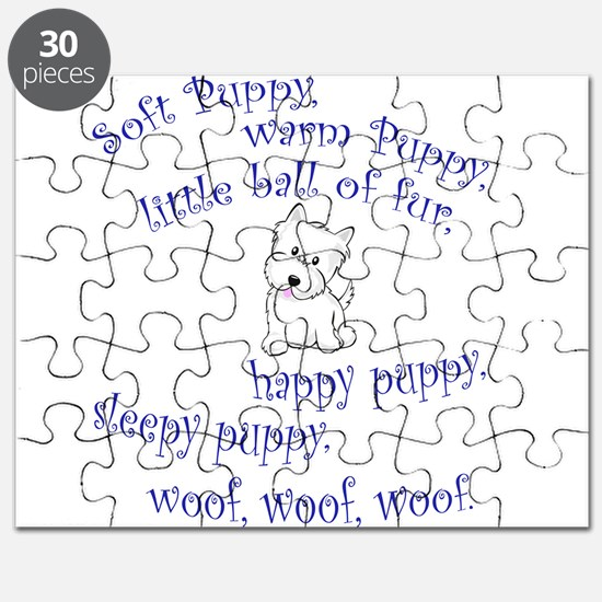 Soft Puppy Puzzle