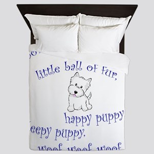 Soft Puppy Queen Duvet
