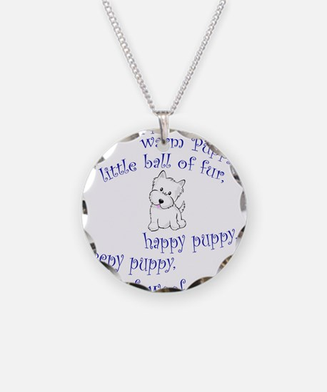 Soft Puppy Necklace