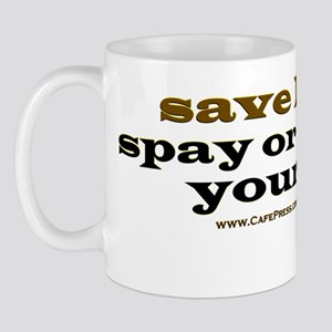 Spay Neuter Yourself lightapparel Mug
