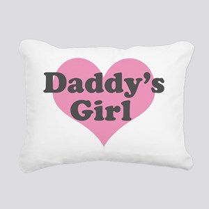 Daddys Girl Rectangular Canvas Pillow