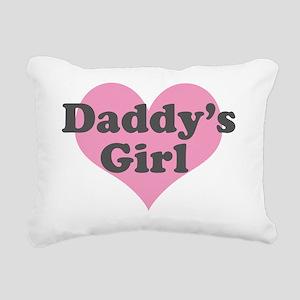 Daddys Girl Rectangular Canvas Pillow