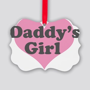 Daddys Girl Picture Ornament