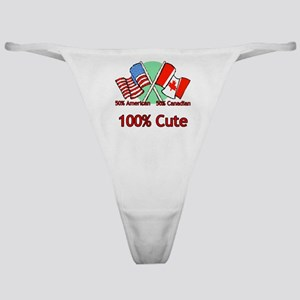 Canadian American 100% Cute Classic Thong