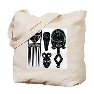 da70705e52 African Mask Bags - CafePress