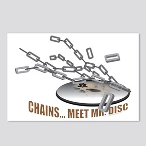 Chains..Meet Mr. Disc Postcards (Package of 8)