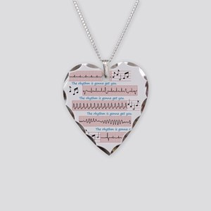 Rhythm is gonna get you Necklace Heart Charm