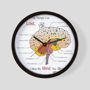 I miss my mind Wall Clock