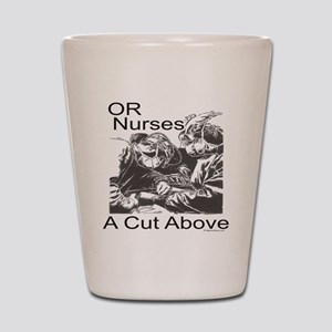 OR Nurses Shot Glass