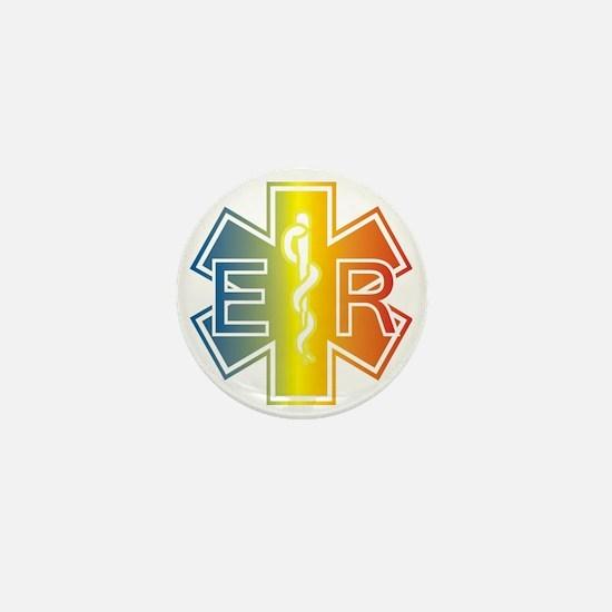 ER multicolor Mini Button