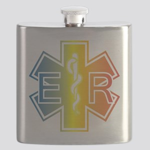 ER multicolor Flask