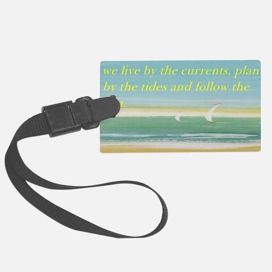 The beach Luggage Tag