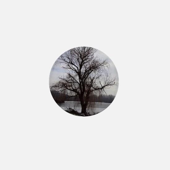 Peaceful Willow Tree Mini Button