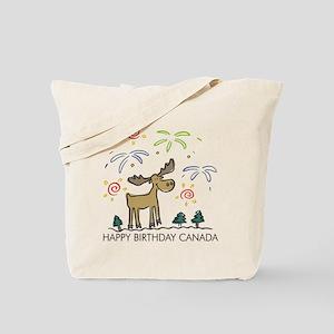 Happy Birthday Canada! Tote Bag