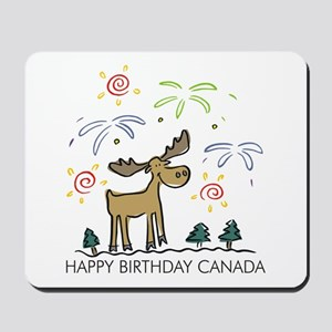 Happy Birthday Canada! Mousepad