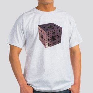 Copper Menger sponge fractal Light T-Shirt