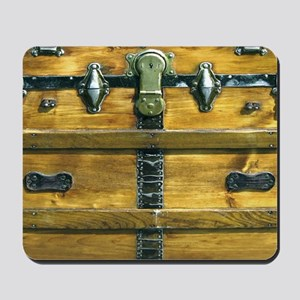 Steampunk Steamer Trunk Lap Top Skin Mousepad