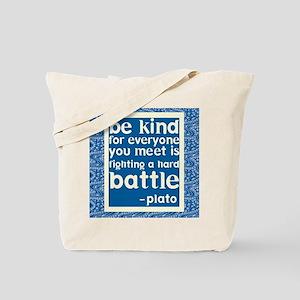 Be Kind - Inspirational Tote Bag