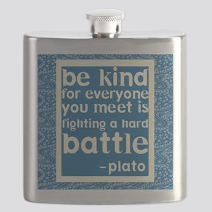Be Kind - Inspirational Flask