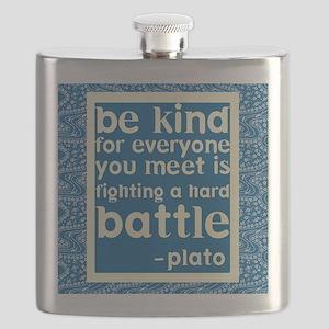 Be Kind - Inspirational Flask