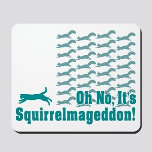 Squirrelmageddon Mousepad