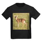 Forked Horn Buck Kids Dark T-Shirt
