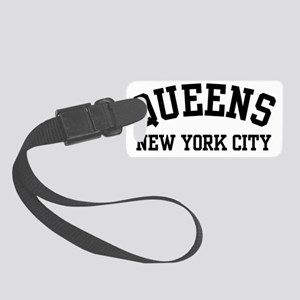 Queens New York City Small Luggage Tag