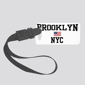 Brooklyn NYC Small Luggage Tag