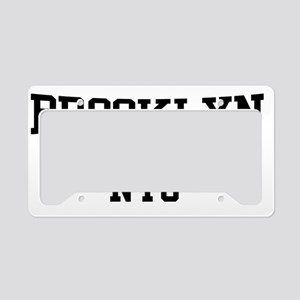 Brooklyn NYC License Plate Holder