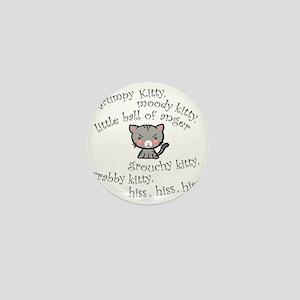 Grumpy Kitty Mini Button