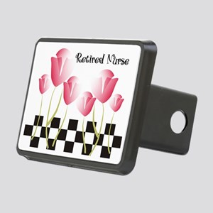 Retired Nurse A Rectangular Hitch Cover