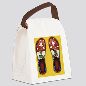 Clown Shoes II Canvas Lunch Bag