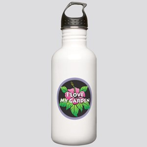 I Love My Garden Stainless Water Bottle 1.0L