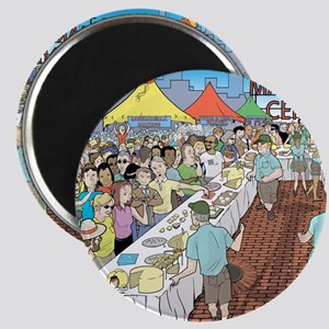 Market Festival Magnet