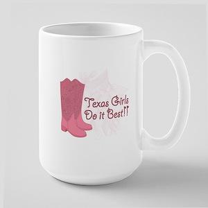 100% Texan Large Mug