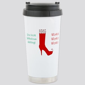 Red Boot 16 Oz Stainless Steel Travel Mug Mugs