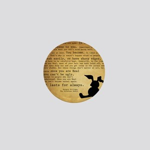 Velveteen Rabbit Print Mini Button