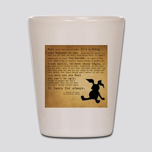Velveteen Rabbit Print Shot Glass