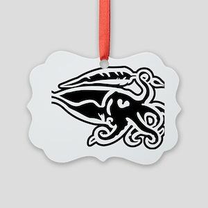 Cuttlefish Sigil Picture Ornament