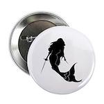 Fencing Mermaid Button
