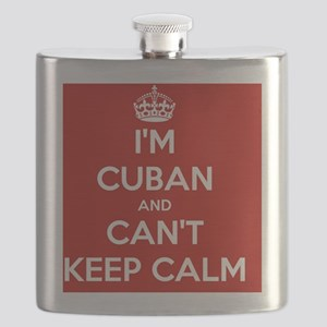 I'm Cuban and I Can't Keep Calm  Flask