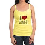 I Heart Parks Jr. Spaghetti Tank