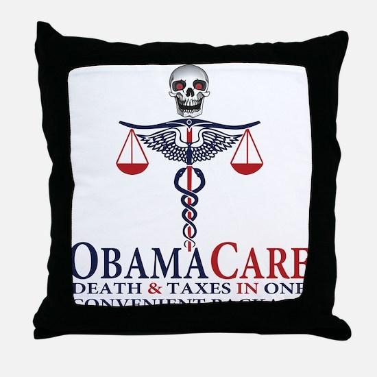 Obamacare Throw Pillow