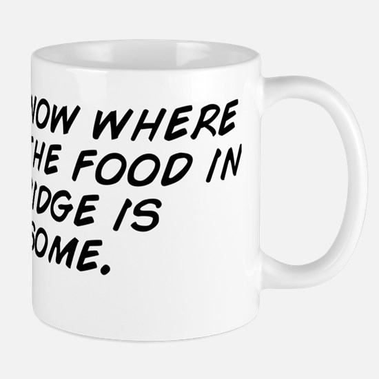 I don't know where I am but the fo Mug