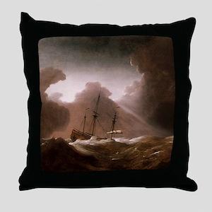 A Dutch Ship Throw Pillow
