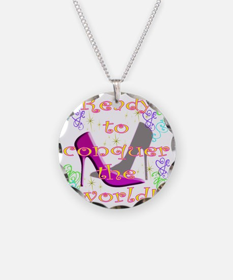 READY TO CONQUER THE WORLD Necklace