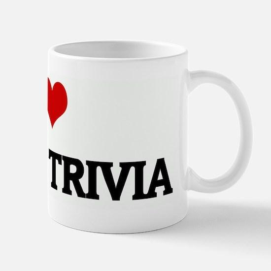 I Love  WWSP TRIVIA Mug