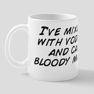 I've mixd ketchup with vodka befor Mug