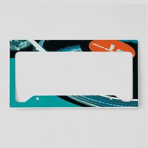 Turntable Vinyl DJ License Plate Holder