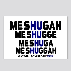 MESHUGAH - PLAIN CRAZY! Postcards (Package of 8)